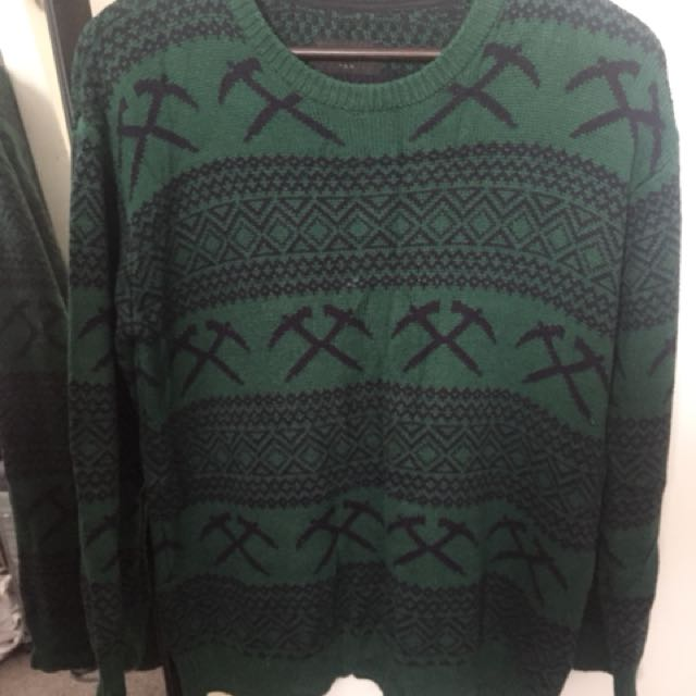 Huffer - Green sweatshirt
