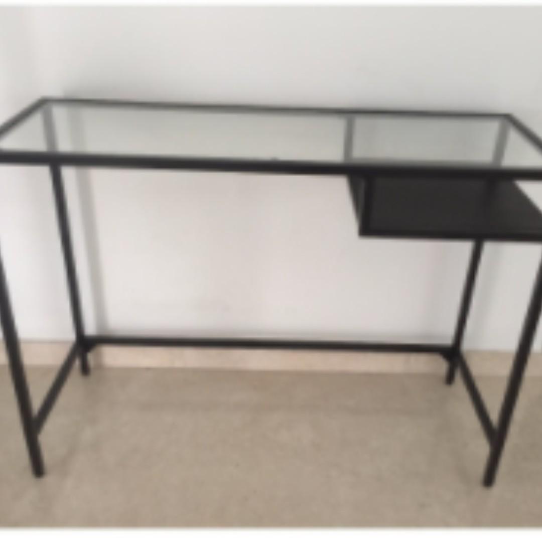 Ikea Vittsjo Laptop Desk Table Home Furniture Furniture  # Meuble Ikea Vittsjo