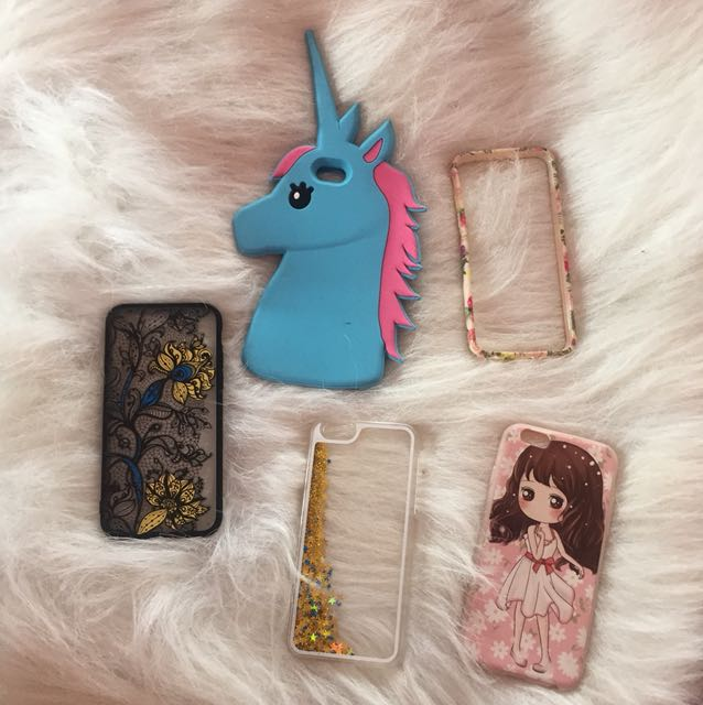 Iphone 6 case (Take it all for 500 pesos)