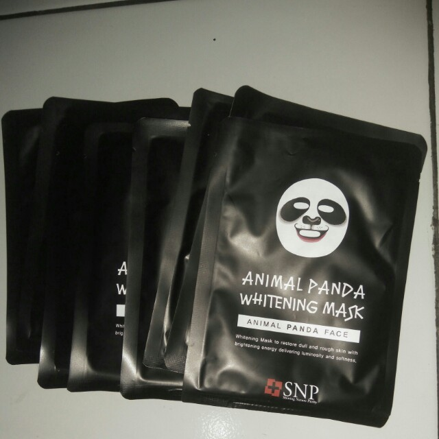Isi 8 Animal mask - panda (whitening)