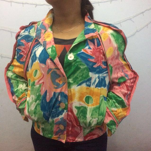Jaket floral