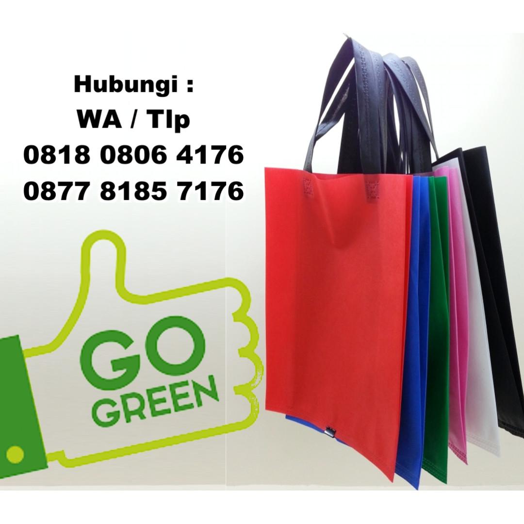 Jual Tas Spunbond Ramah Lingkungan (Eco Green Bag) cd21f353c6