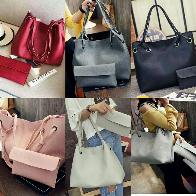 Korean 2-in-1 Bag Set