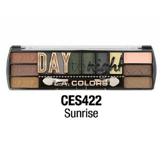 LA COLORS DAY TO NIGHT EYESHADOW PALETTE