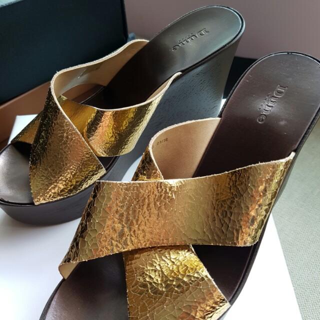 Ladies Shoes Dune London size 38 wedges