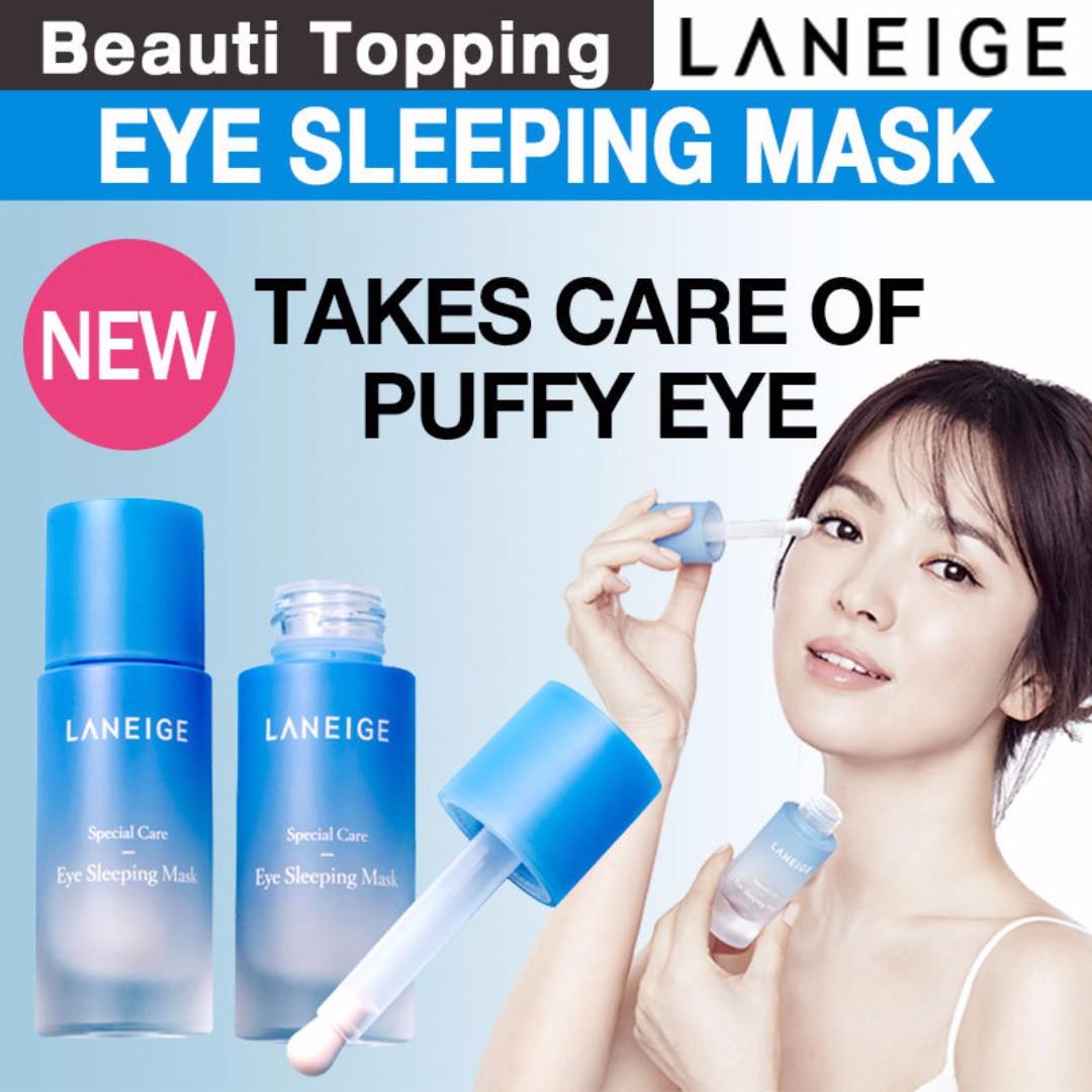 Laneige Eye Sleeping Mask Up S42 Health Beauty Bath Body On Carousell