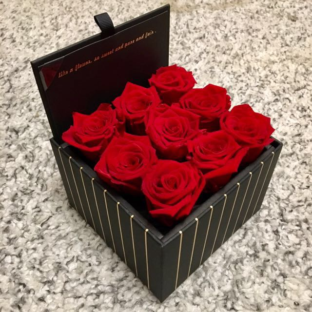 Large Box Real Roses That Last A Year Design Craft Handmade Goods Accessories On Carou