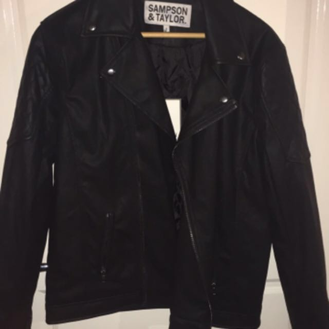Leather Jacket size S SALE