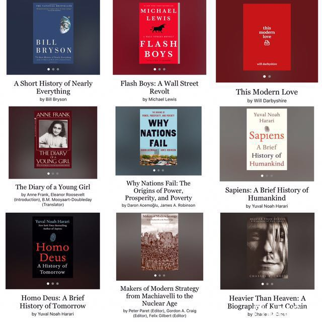 Looking for these books!