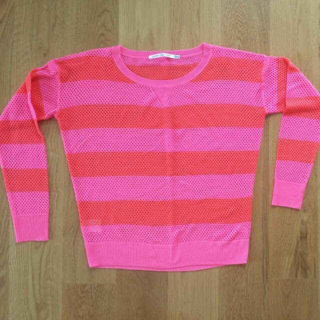 Lorna Jane fluoro sweater