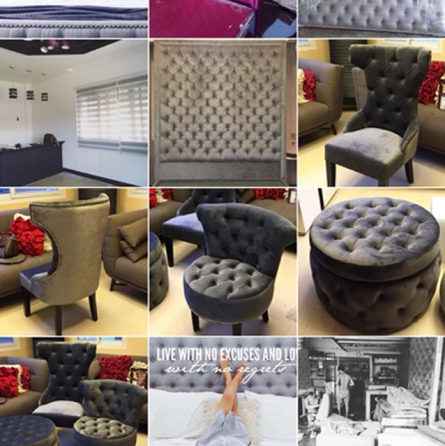 Made to Order Tufted Furnitures/ Tufted Bed/Tufted Sofa