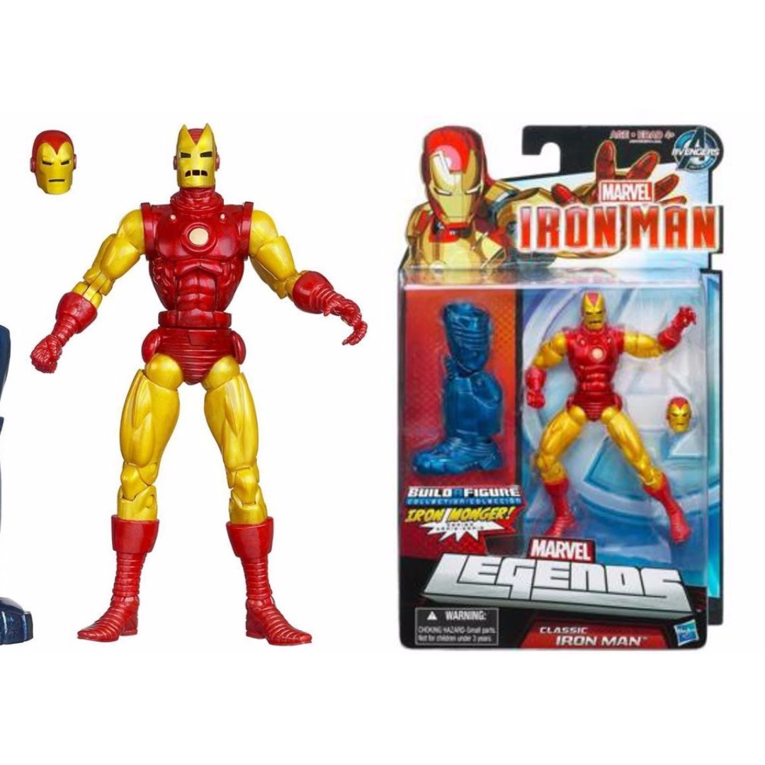 Marvel Legends Classic Iron Man Hasbro BAF Ironmonger, Toys & Games, Bricks & Figurines on Carousell
