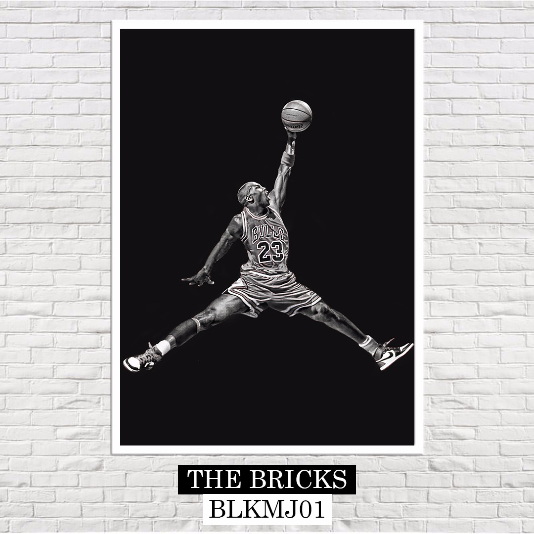 Michael Jordan A4 Size Poster Mens Fashion Accessories On Carousell
