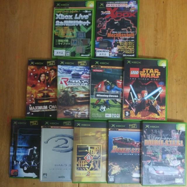 Microsoft Xbox Games(日版)+(行版x2)