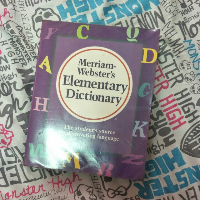 Miriamnwebster dictionary