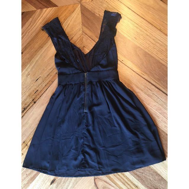 Navy blue Sheinside dress, size S