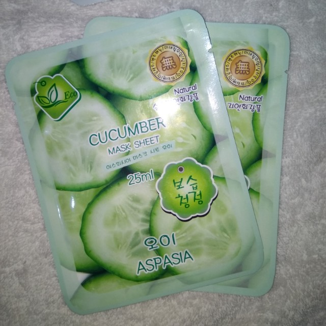 NEW Cucumber Mask Sheet