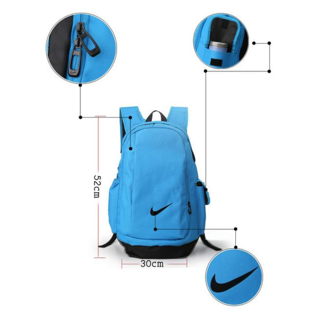 f408bd9023 Free New Nike Laptop Sport Travel Backpack 8 Colours. Image nike nk elmntl  backpack light blue nike classic ...
