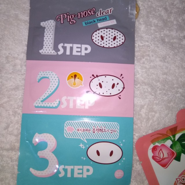 NEW Pig-nose Clear Blackhead 3-Step Kit