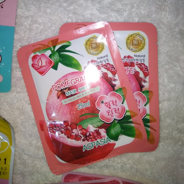 NEW Pomegranate Mask Sheet