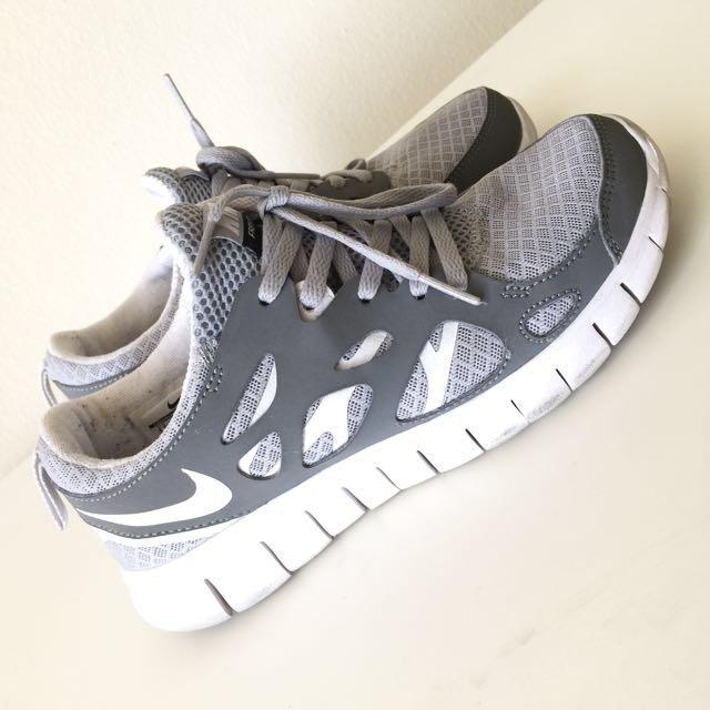 NIKE Free Run 2 Grey/White