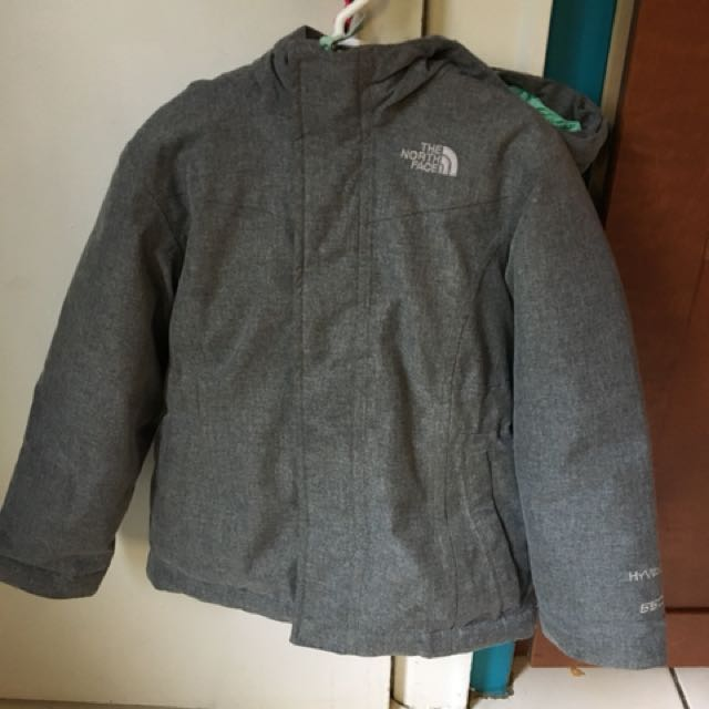 North Face Girls parka - size 5