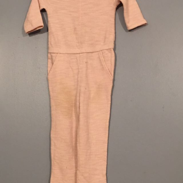 Old navy Millennial Pink jumpsuit