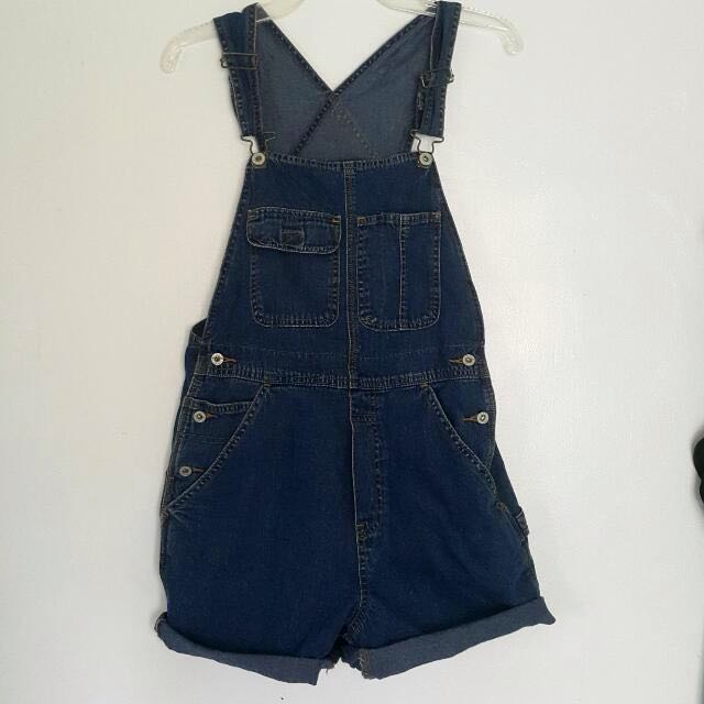 Old Navy Oversized Denim Overalls/Jumper