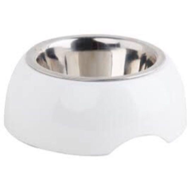 Pawise Melamine Bowl w/ Stainless Steel Insert