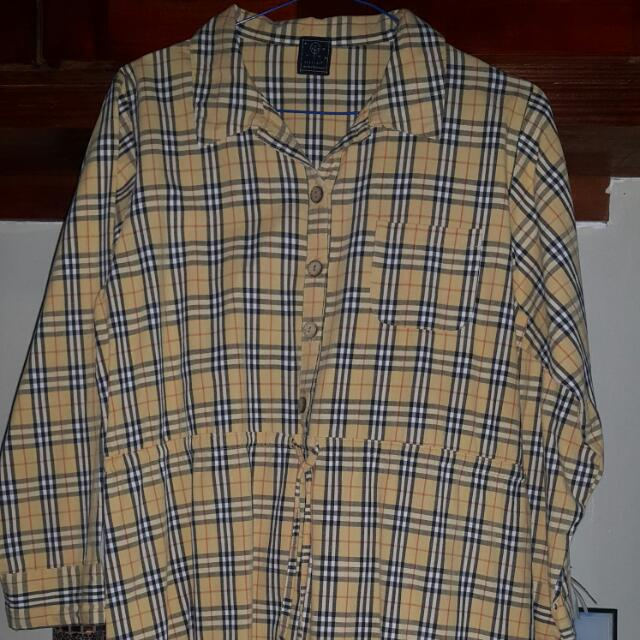 Preloved Burberry Inspired Dress