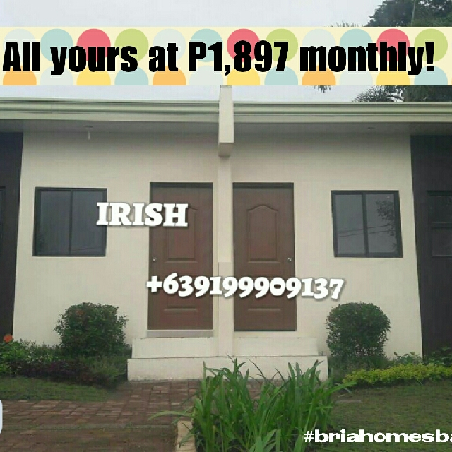 Presell Rowhouse In Baras Rizal