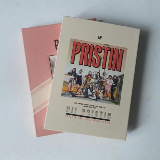 Pristin 1st Mini Album - Both Version (Prismatic & Elastin)