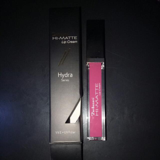 Purbsari Hi-matte Lip Cream No.04 (Zinnia)