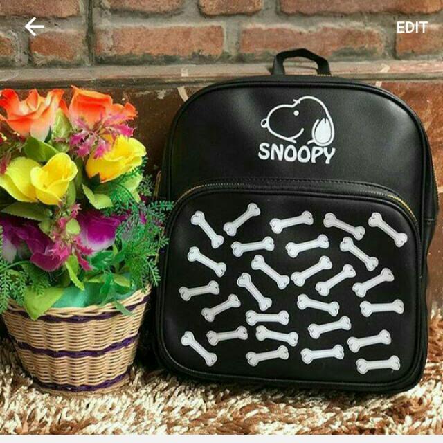Ransel Snoopy