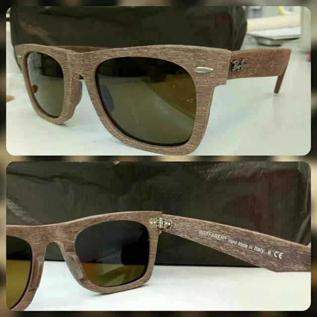 c16ae15eb6 Ray Ban Wayfarer Wood Special Edition