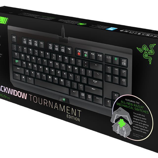 RAZER BLACKWIDOW TOURNAMENT 鍵盤