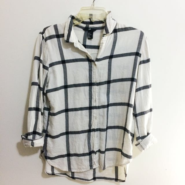 *REDUCED PRICE!*H&M Grid Flannel