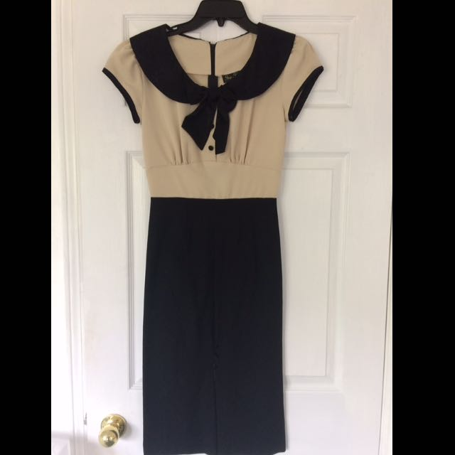 Retro Style Pin Up Vintage Stop Staring Dress