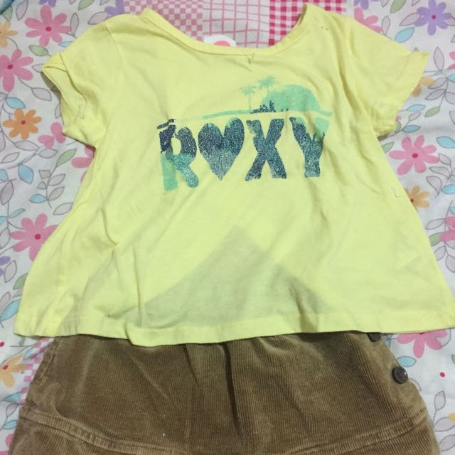 Roxy top with skirt