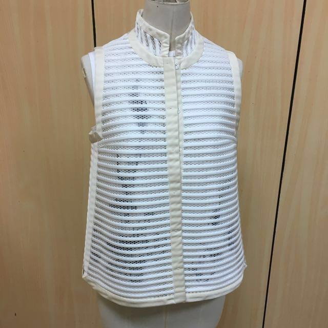 Shiatzychen 夏姿經典美衣 二件式立領襯衫