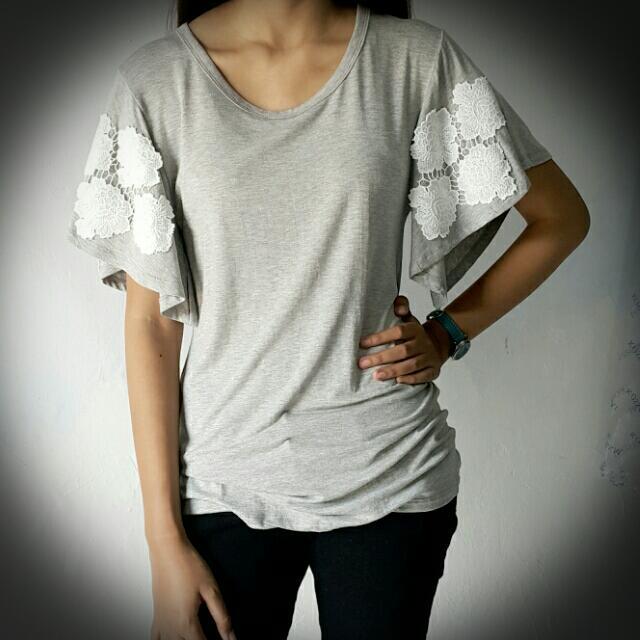 Shirt Cantik Grey