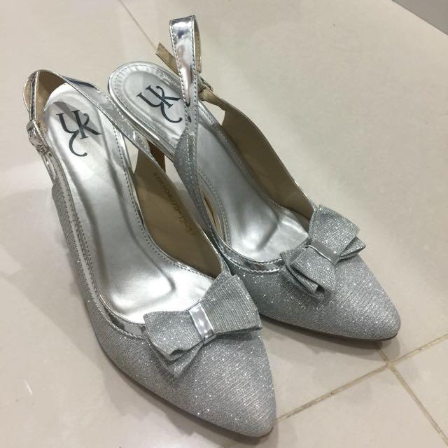Silver Heels YK Size 37