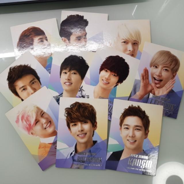 SMTOWN III Super Junior Photocards