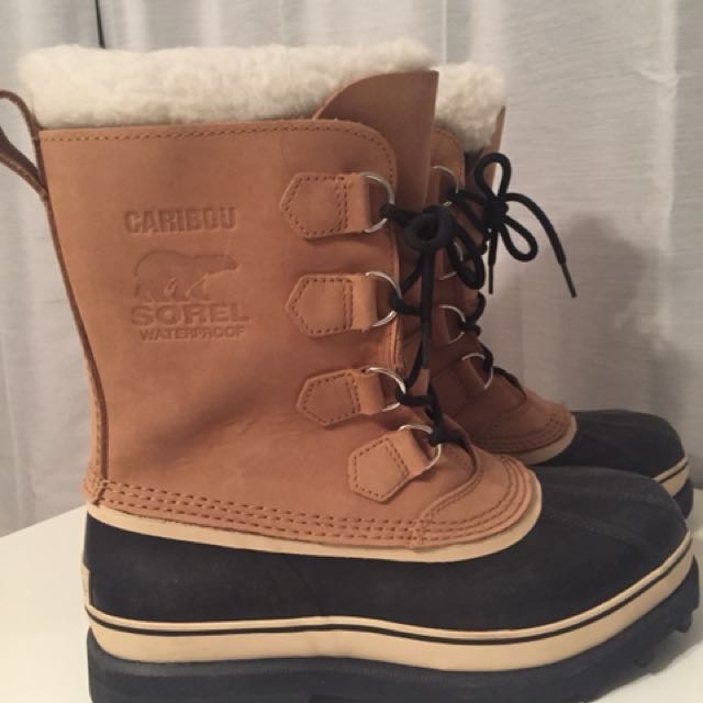 Sorel winter boots men's size 10
