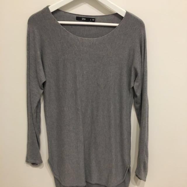 Sports girl Grey Knit