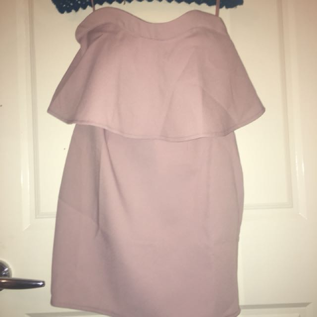Strapless dress size 8