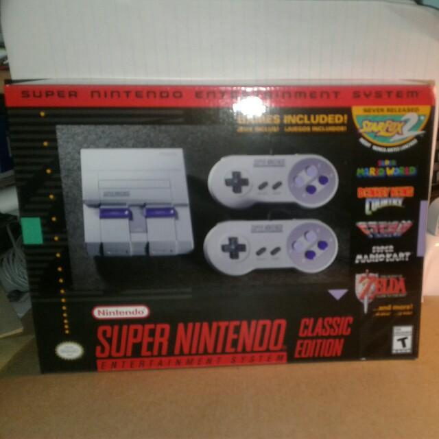 Super Nintendo Entertainment System classic edition