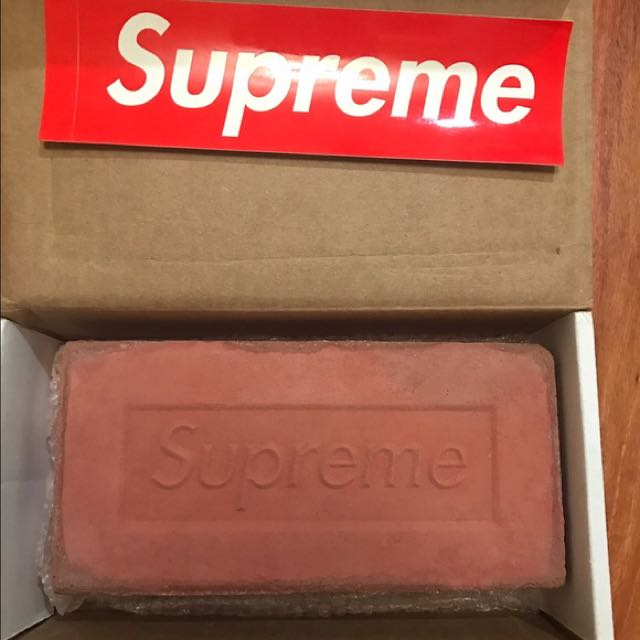 Supreme Brick Luxury Accessories On Carousell