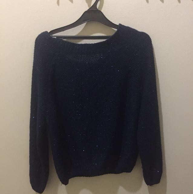 Sweater biru big size