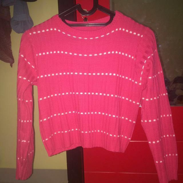 Sweater Crop Tee